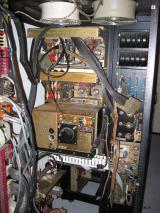 PDP-12 Inside view of Tape Drive Electronics